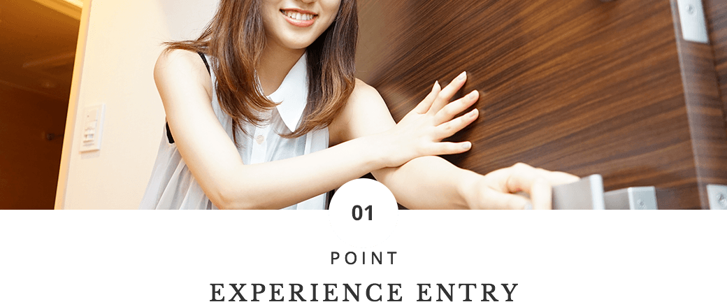 POINT EXPERIENCE ENTRY